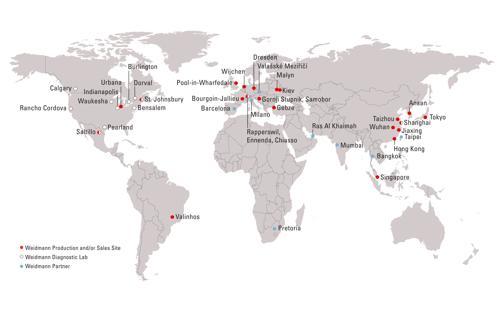 Laboratory Locations