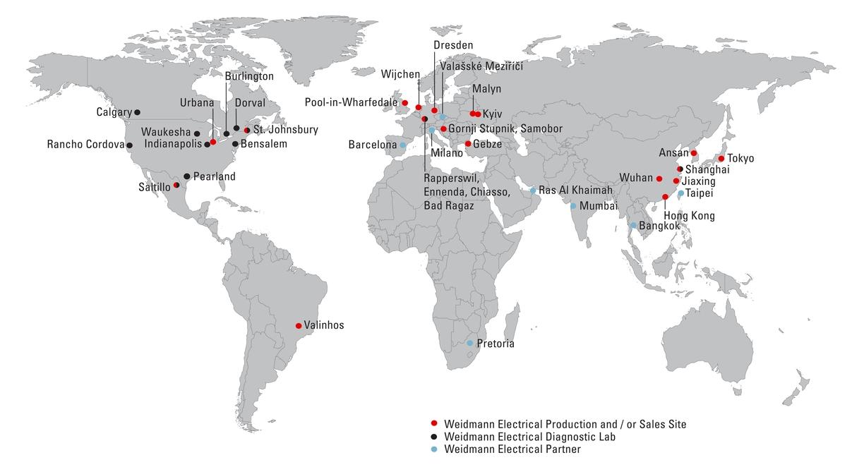 Weidmann Locations
